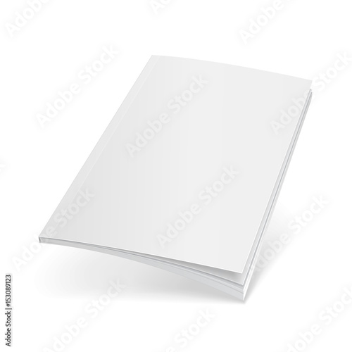 Blank Flying Cover Of Magazine, Book, Booklet, Brochure