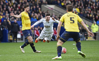 Oxford United v Swansea City - FA Cup Third Round