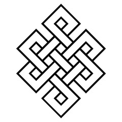 cultural symbol of buddhism endless knot
