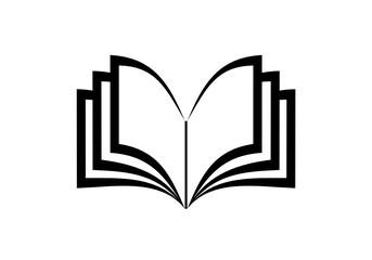 książka ikona - fototapety na wymiar