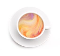 Bunter Kaffe