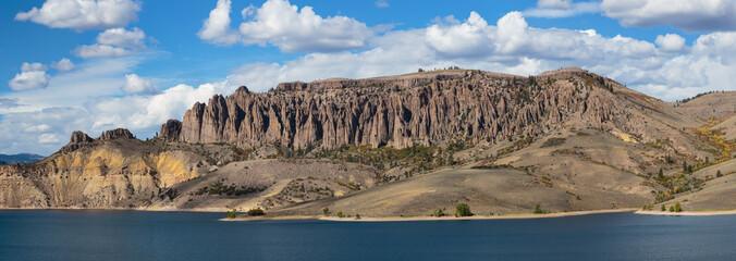 Blue Mesa Reservoir in Colorado