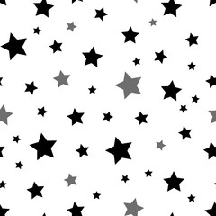 Star seamless pattern. Seamless pattern with stars. Seamless geometric pattern. Vector seamless pattern.