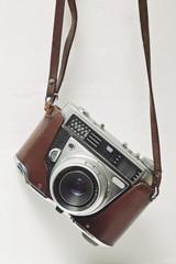appareil photo argentique vintage