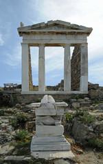 Temple d'Isis de Délos en Grèce