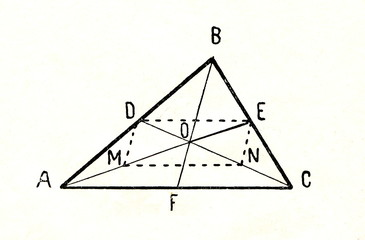 The triangle medians and the centroid