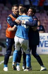 Napoli v Verona- Italian Serie A