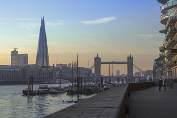 Staande foto London London River View