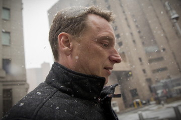 Anthony Allen Rabobank's former global head of liquidity and finance exits the U.S. Federal Courthouse in New York