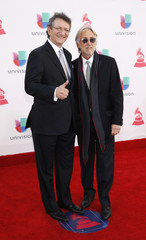 Abaroa and Portnow arrive at the 17th Annual Latin Grammy Awards in Las Vegas