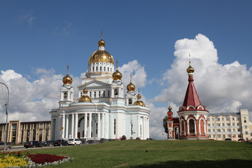Russia. Mordovia. Saransk. The Cathedral of St Warrior Fedor Ushakov