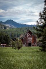 Rustic Country Barn Scene