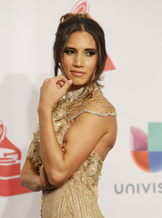 India Martinez arrives at the 15th Annual Latin Grammy Awards in Las Vegas