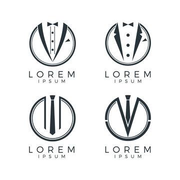 Men Fashion Logo Set