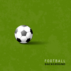 Football soccer ball sport vector illustration background