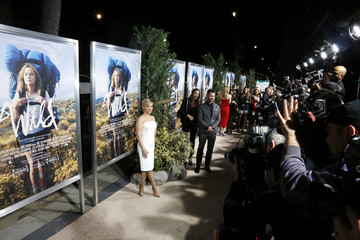 """Witherspoon poses at the Los Angeles premiere of the film """"Wild"""" at the Academy of Motion Picture, Arts and Sciences in Beverly Hills"""