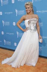 Singer Hough arrives at the 45th annual Academy of Country Music Awards in Las Vegas