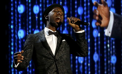 Singer Blacc performs at the 7th Annual Academy of Motion Picture Arts and Sciences Governors Awards at The Ray Dolby Ballroom in Hollywood