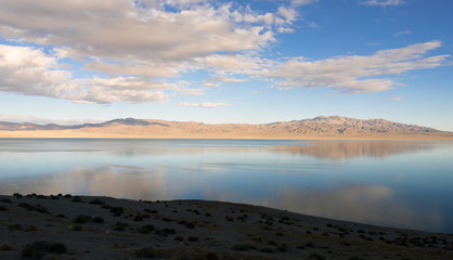 Twenty Mile Beach Walker Lake Western Nevada United States