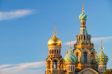 Church of the Savior on Spilled Blood in St. Petersburg, Russia Fototapete