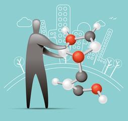 Business molecular Structure