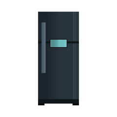 fridge kitchen isolated icon vector illustration design