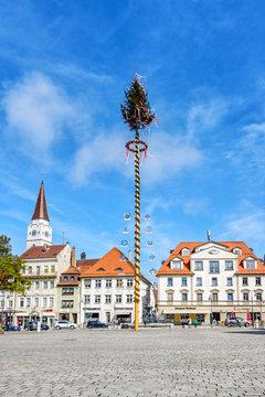 Maibaum in Ehingen (Donau)