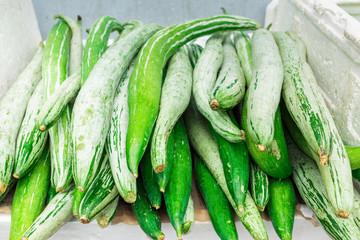 fresh organic zucchini (zucchini).