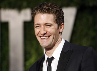 Actor Matthew Morrison at the 2010 Vanity Fair Oscar party in West Hollywood.