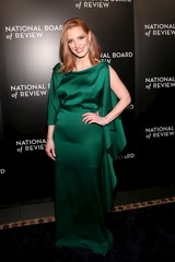 Jessica Chastain attends The National Board of Review Gala in Manhattan