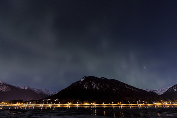 Northern Lights over Juneau