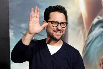 """Director J.J. Abrams arrives as a guest at a premiere of the film """"Arrival"""" in Los Angeles"""