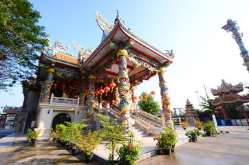 exterior the shrine chinese beliefs religious, thailand