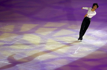 Tatsuki Machida of Japan performs during the ISU Bompard Trophy event of Figure Skating in Bordeaux