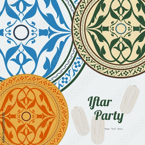 Editable iftar party vector background concept for poster or editable iftar party vector background concept for poster or invitation card stopboris Image collections