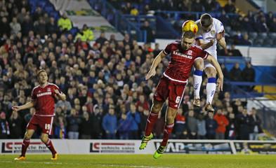 Leeds United v Middlesbrough - Sky Bet Football League Championship