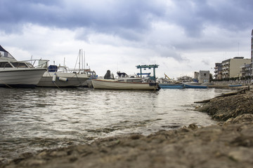 Bari Italy Fisherman's Boat