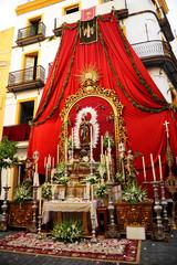Corpus Christi in Seville, Spain