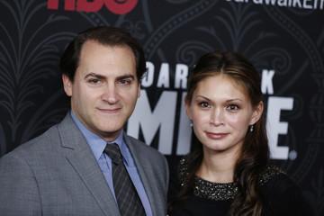 Cast member Michael Stuhlbarg arrives with Mai-Linh Lofgren for the season premiere of the HBO series Boardwalk Empire, in New York