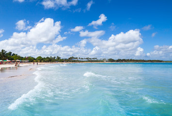 Macao Beach, popular resort of Dominican Republic