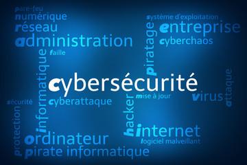 Nuage de Mots Cybersécurité v2