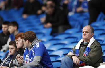Cardiff City fans before the game