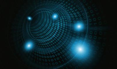 サイバー攻撃ウイルス感染4:青色