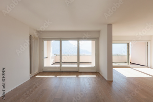 Interior Of Empty Apartment