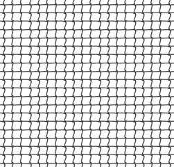 Tennis Net Seamless Pattern Background. Vector Illustration