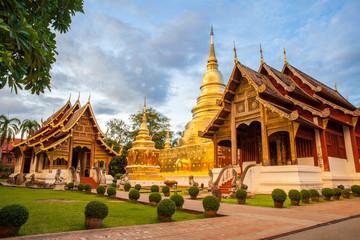 Foto op Plexiglas Temple Buddhist temple in Chiang Mai