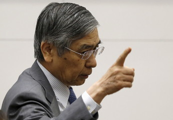 BOJ Governor Kuroda attends the 2015 BOJ-IMES conference, hosted by Institute for Monetary and Economic Studies, BOJ, in Tokyo