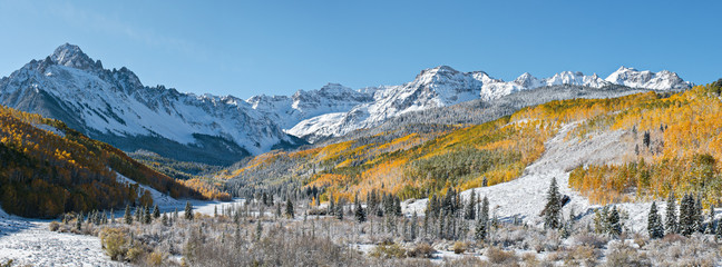 The Dallas Divide in Autumn, Colorado Rocky Mountains