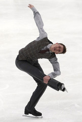 Jeremy Abbott of the U.S. performs during the men's free skating competition at the ISU Four Continents Figure Skating Championships in Taipei