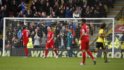 Watford v Liverpool - Barclays Premier League